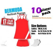 Bermuda Netball Kit