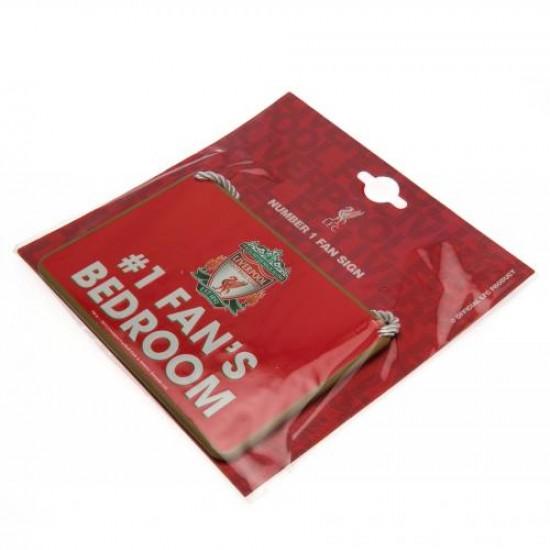 Liverpool F.C. Bedroom Sign